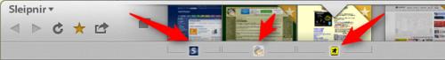「お気にタブ」機能が追加されたSleipnir 6.0.0.4000