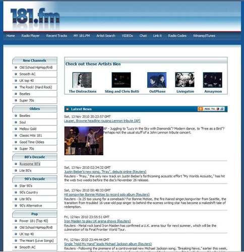 無料で音楽を聴こう! インターネットラジオ「181.FM」1