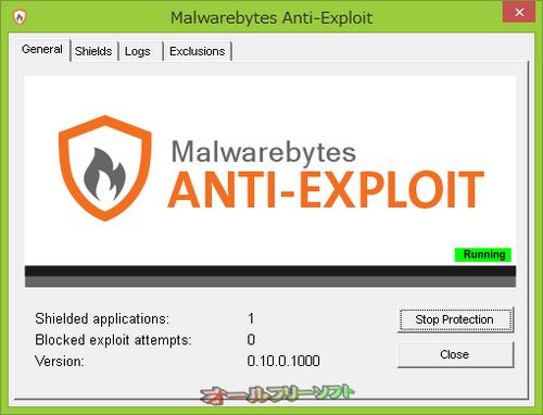 Malwarebytes Anti-Exploitの正式版が公開されました。