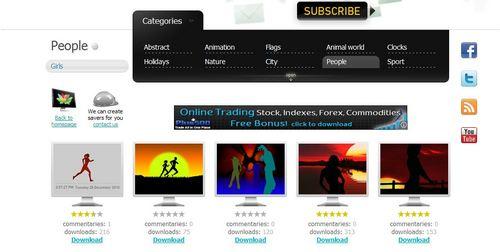 スクリーンセーバーが無料でダウンロードできる「NewFreeScreensavers.com」10.jpg