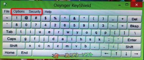 ポータブル版が追加されたOxynger KeyShield 1.1.0