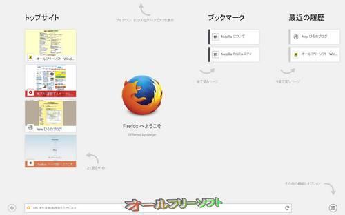 タッチデバイス向けUIを搭載したMozilla Firefox 28.0 Beta 1