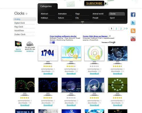 スクリーンセーバーが無料でダウンロードできる「NewFreeScreensavers.com」6.jpg