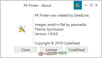 テーマのプレビュー機能が追加されたPK Finder 1.61.png